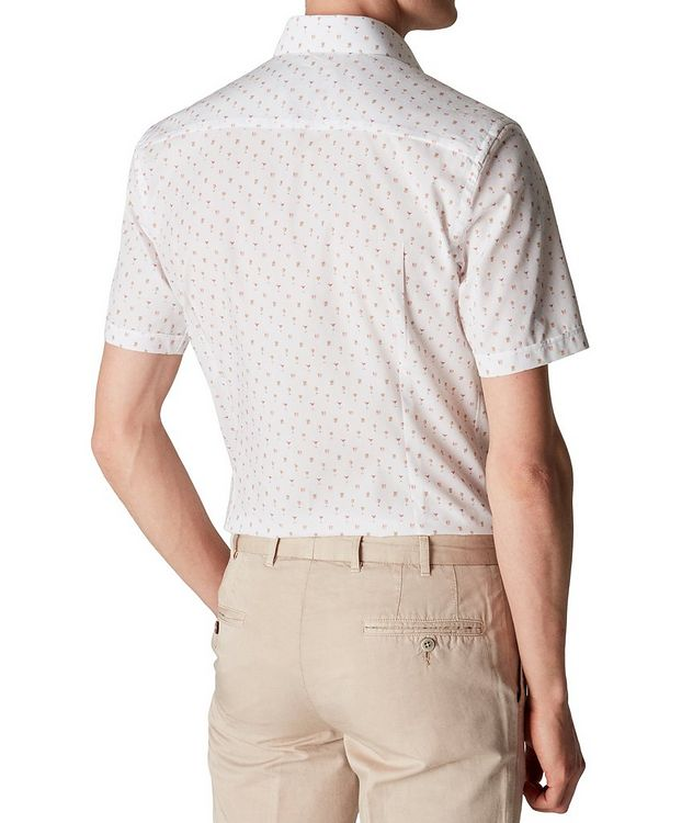 Printed Cotton Short-Sleeve Shirt picture 4