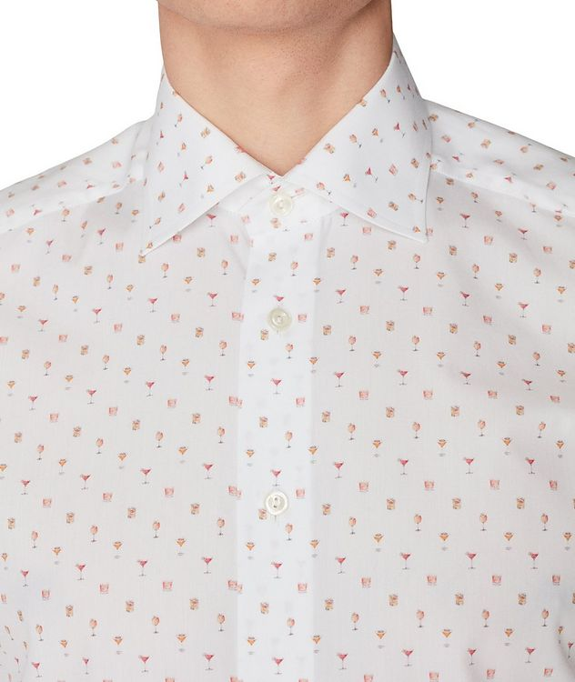 Printed Cotton Short-Sleeve Shirt picture 5