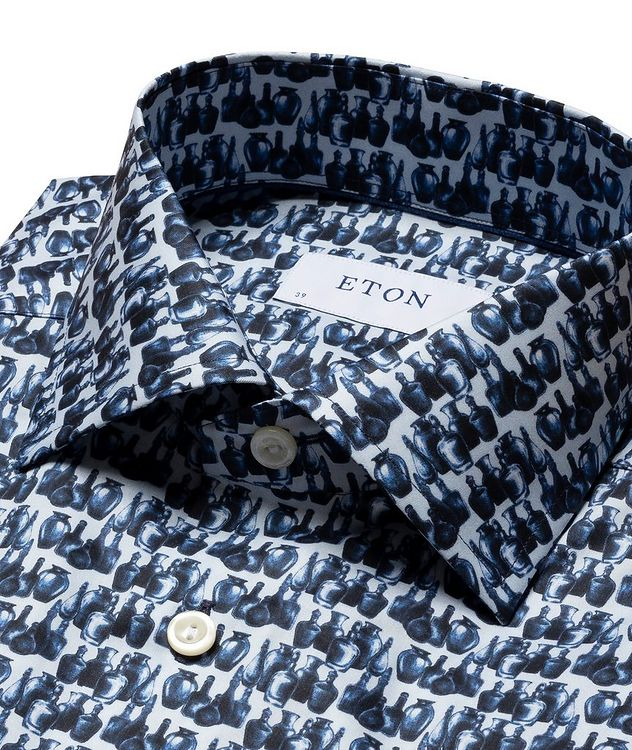 Printed Cotton Short-Sleeve Shirt picture 3