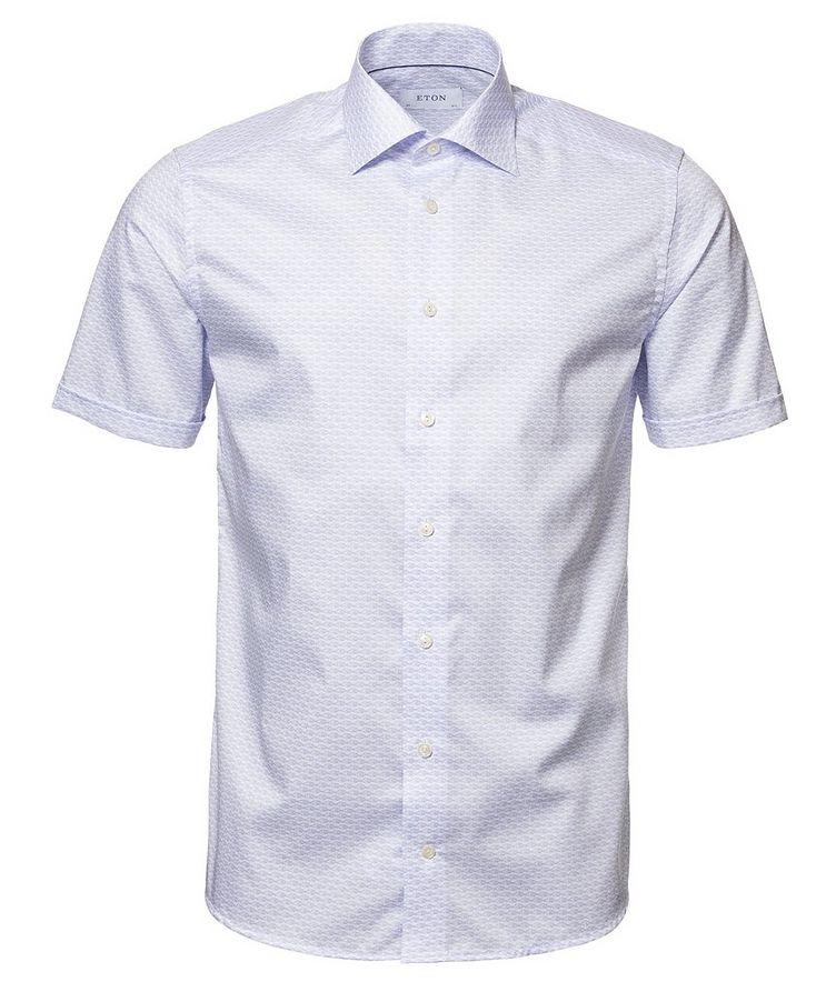 Chemise en coton à manches courtes image 0