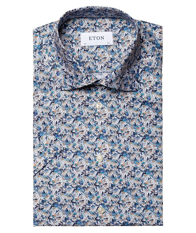 Printed Cotton Short-Sleeve Shirt picture 2