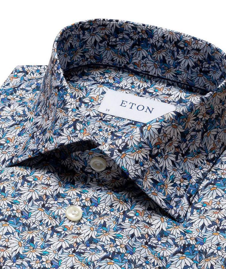 Printed Cotton Short-Sleeve Shirt image 2