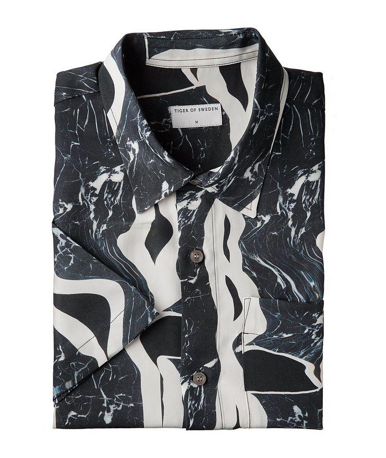 Didon Short-Sleeve Cupro Shirt image 0