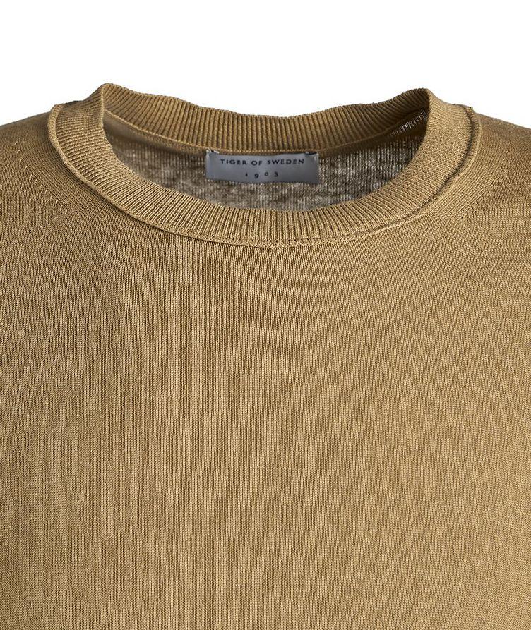 Kawau Pullover Cotton-Linen Sweater image 1