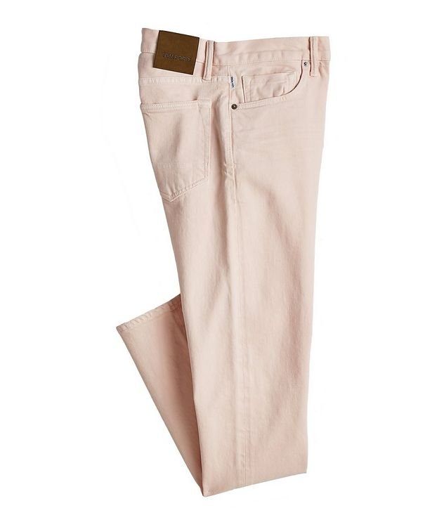 Tapered Stretch-Cotton Jeans picture 1