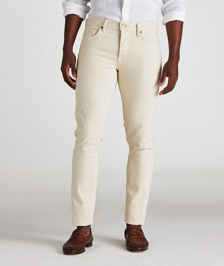 Jean en coton extensible  image 1