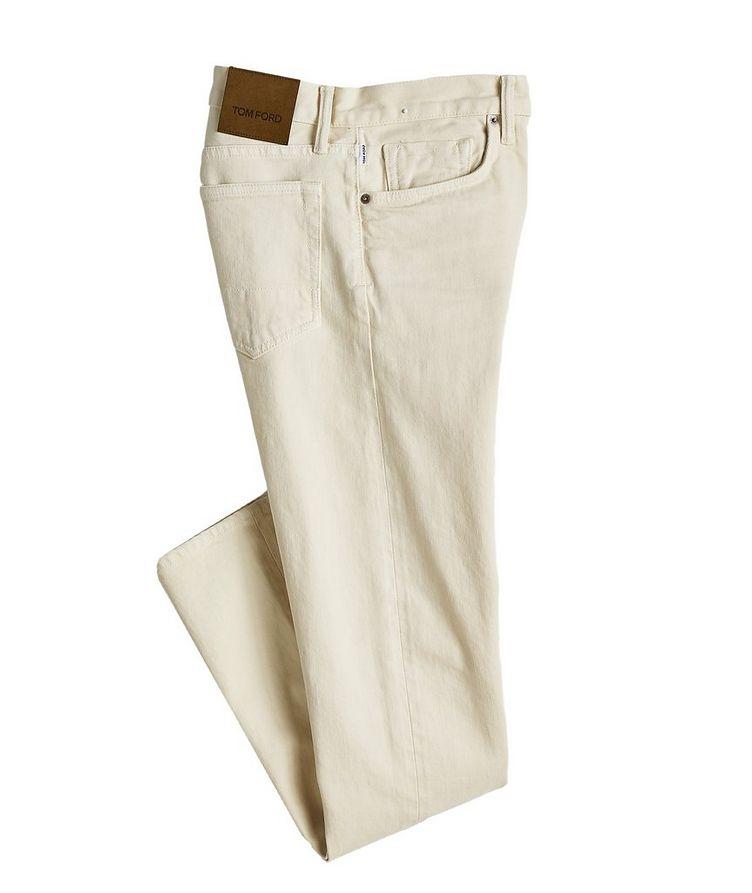 Jean en coton extensible  image 0