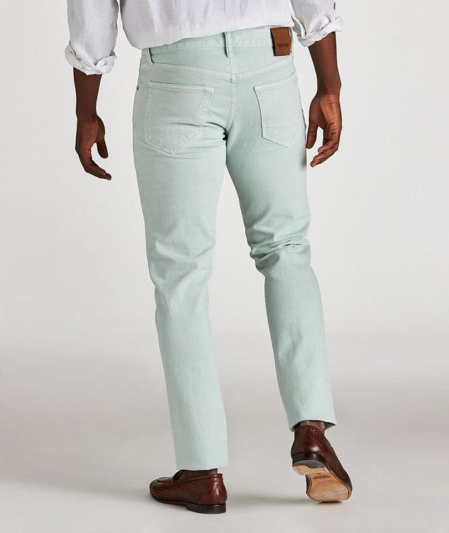 Jean en coton extensible de coupe fuselée picture 3