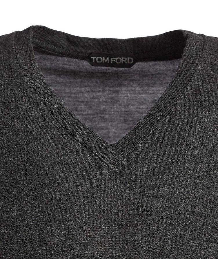 Slim-Fit V-Neck T-Shirt image 1