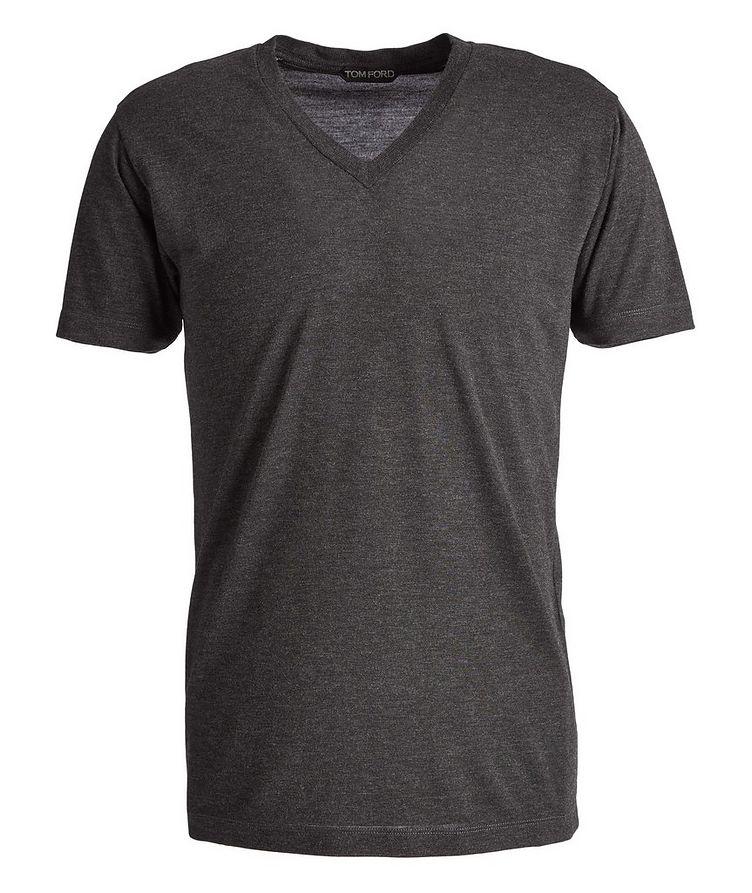 Slim-Fit V-Neck T-Shirt image 0