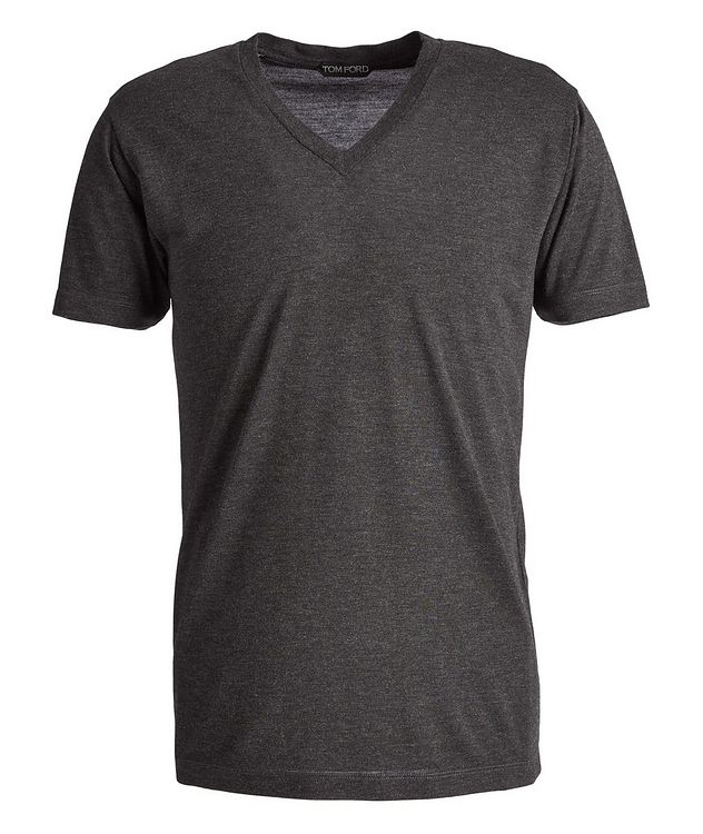 Slim-Fit V-Neck T-Shirt picture 1