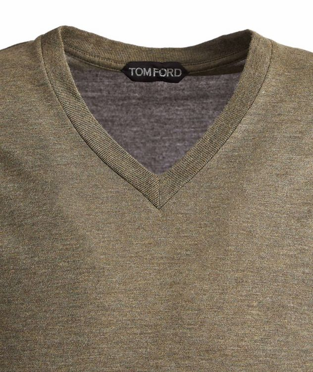 Slim-Fit V-Neck T-Shirt picture 2