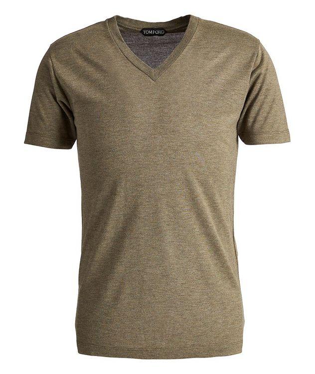 Slim-Fit V-Neck T-Shirt picture 1