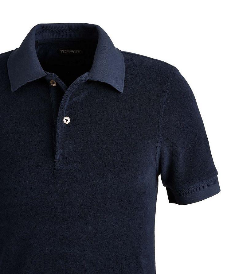 Cotton-Blend Terrycloth Polo image 1