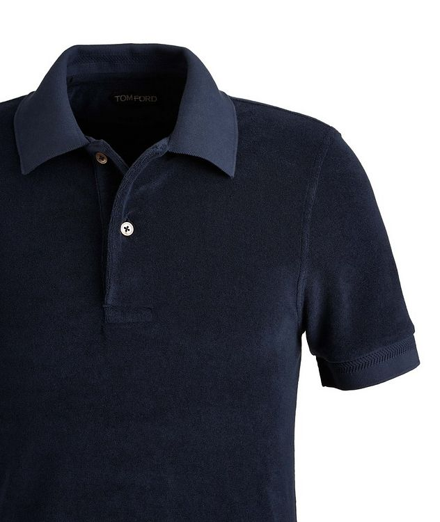 Cotton-Blend Terrycloth Polo picture 2