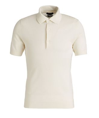 TOM FORD Cotton-Blend Knit Polo