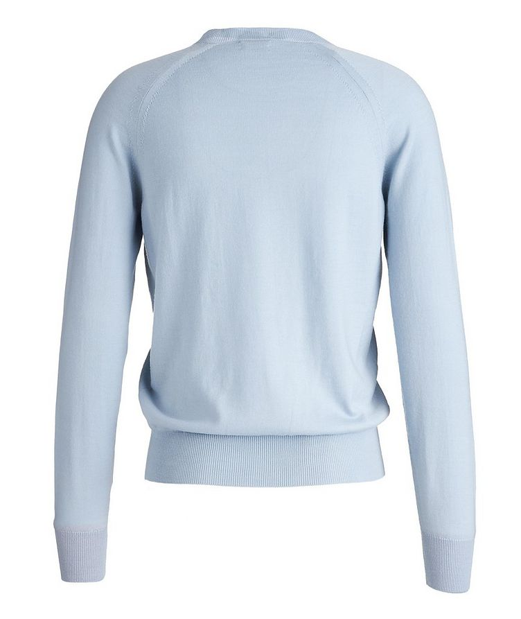 V-Neck Wool Sweater image 1