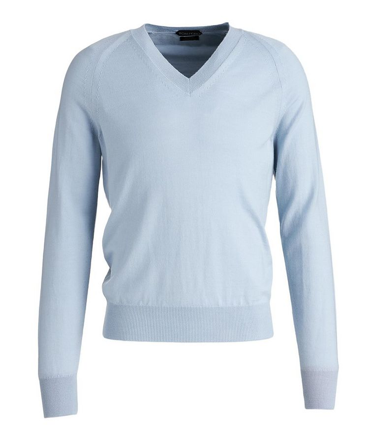 V-Neck Wool Sweater image 0