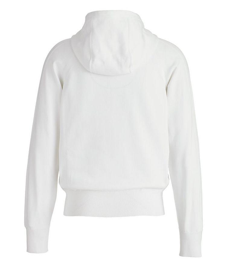 Silk-Blend Zip-Up Hoodie image 1