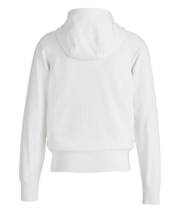 Silk-Blend Zip-Up Hoodie picture 2
