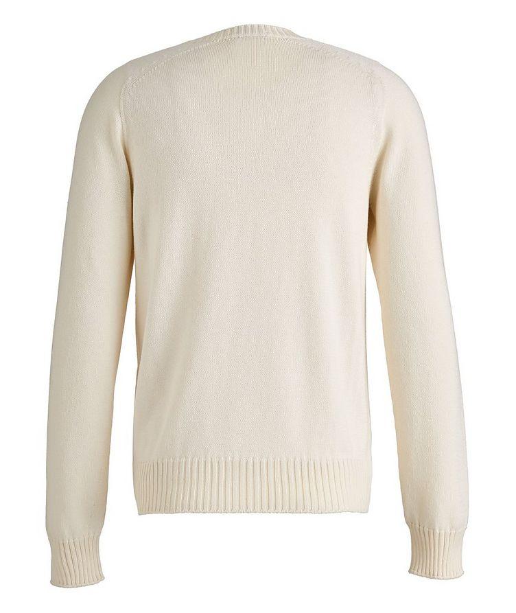 Cotton-Silk Knit Sweater image 1