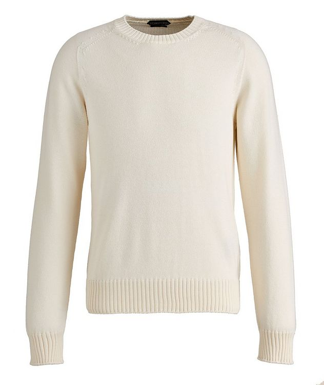 Cotton-Silk Knit Sweater picture 1