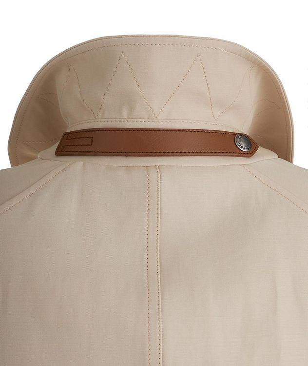 Silk-Cotton Blouson Jacket picture 4