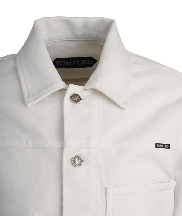 Brushed Cotton Workwear Jacket picture 3