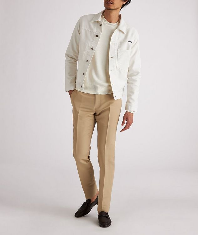 Brushed Cotton Workwear Jacket picture 4