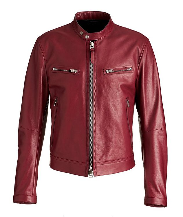 Calfskin Biker Jacket picture 1