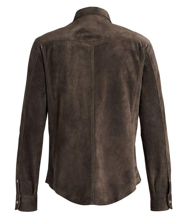 Calfskin Suede Shirt Jacket picture 2