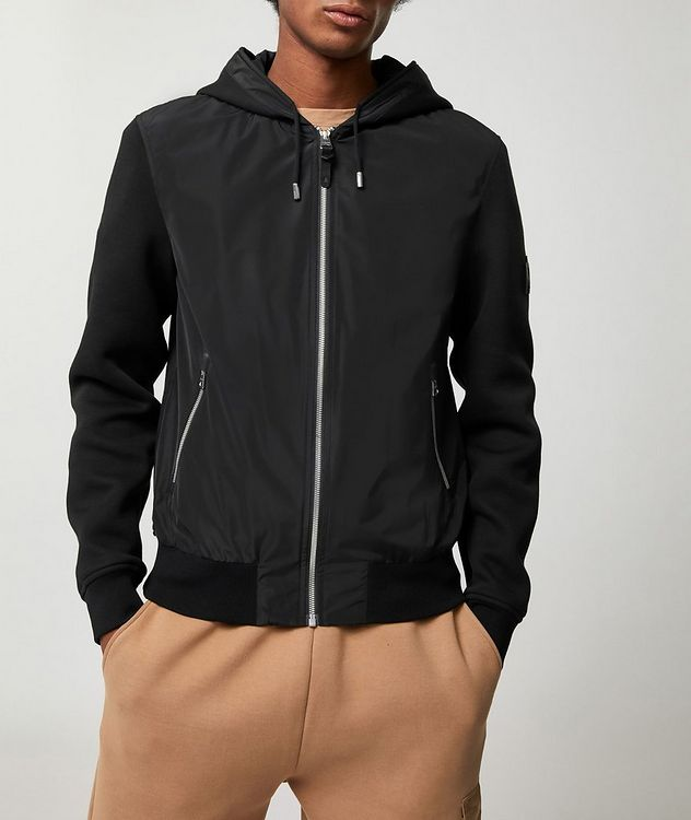 Jules Mixed-Media Zip-Up Jacket picture 1