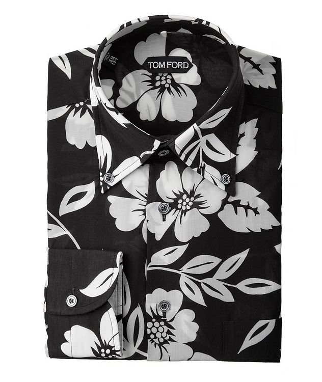 Floral Lyocell Shirt picture 1