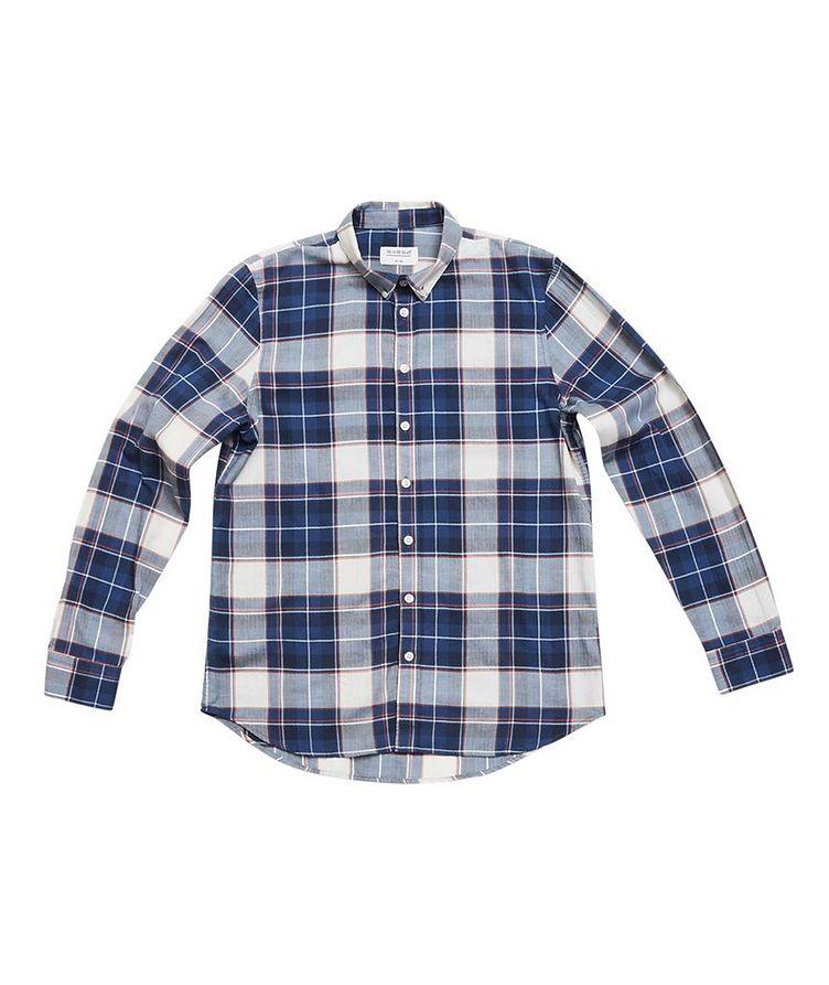 Atlanta Plaid Cotton-Linen Shirt image 1