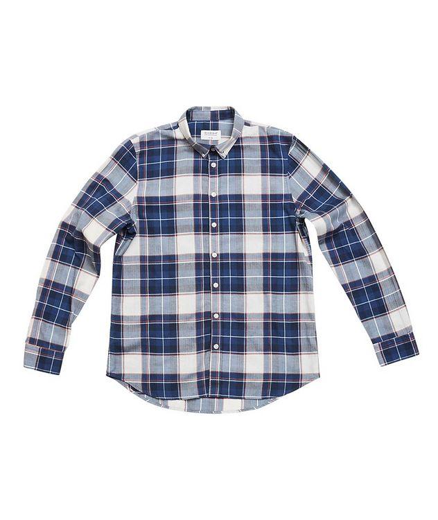 Atlanta Plaid Cotton-Linen Shirt picture 2