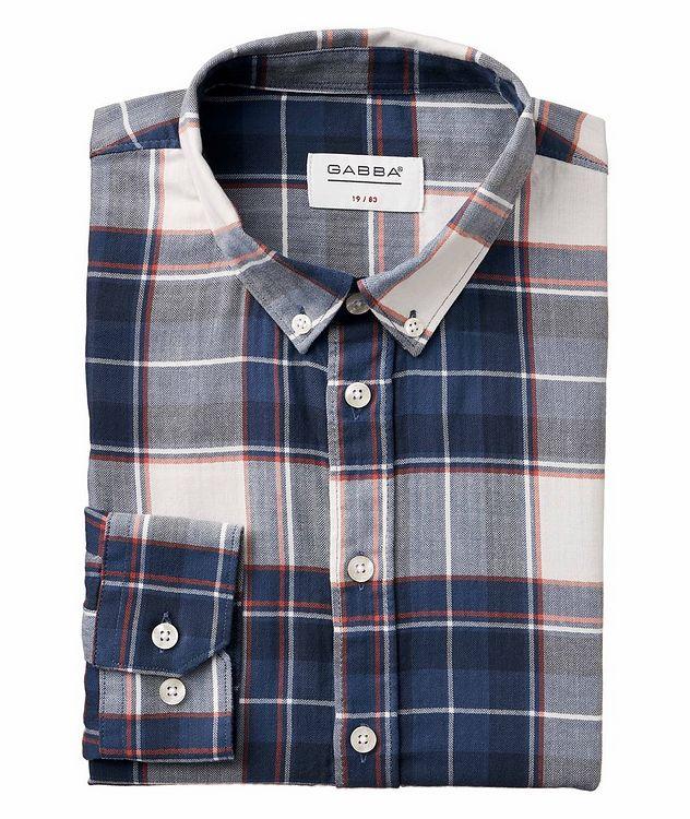 Atlanta Plaid Cotton-Linen Shirt picture 1