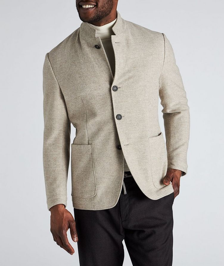 Unstructured Wool Sports Jacket image 1