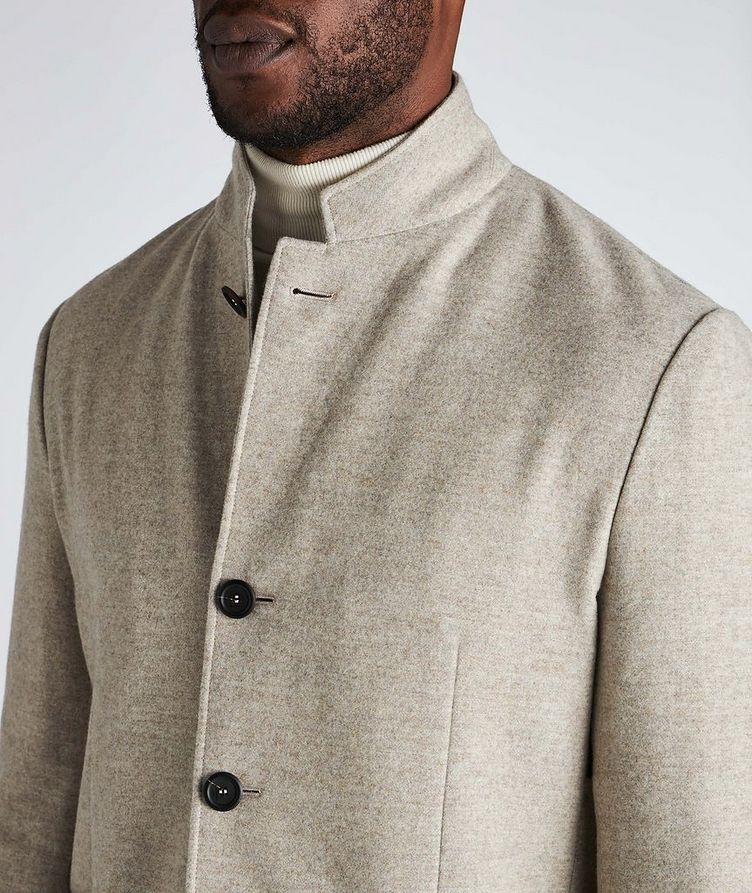 Unstructured Wool Sports Jacket image 3