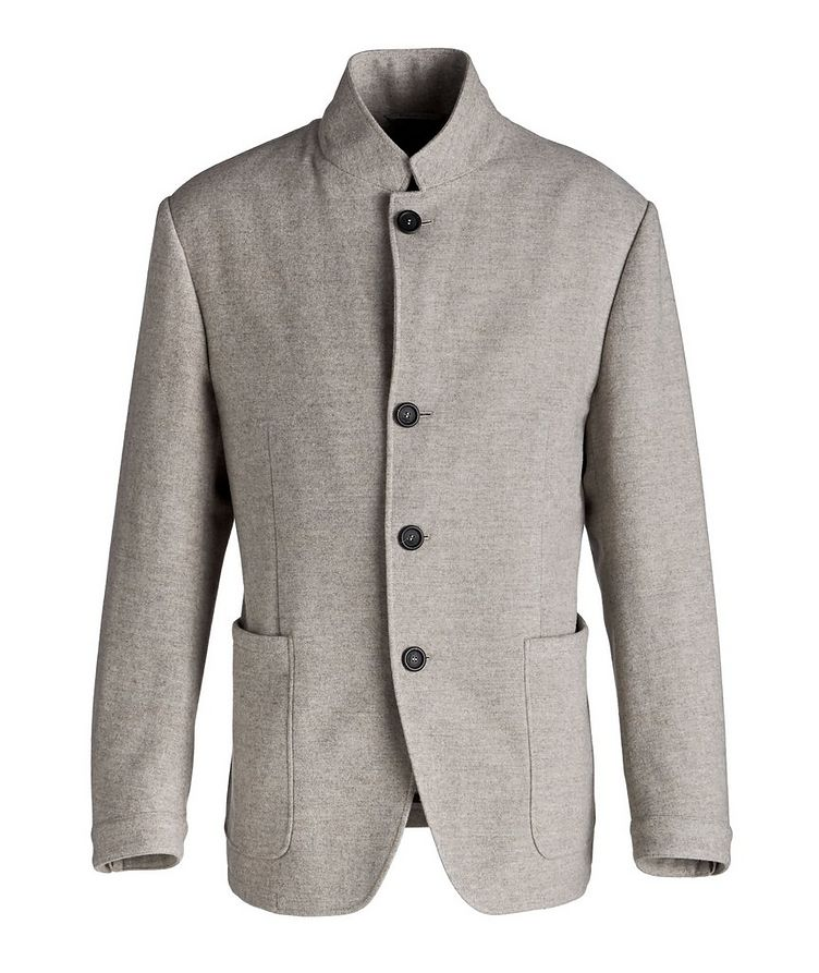 Unstructured Wool Sports Jacket image 0