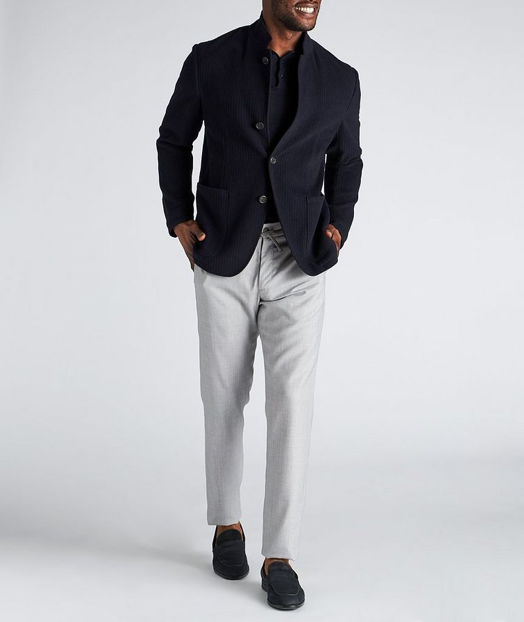 Unstructured Wool Sports Jacket image 4