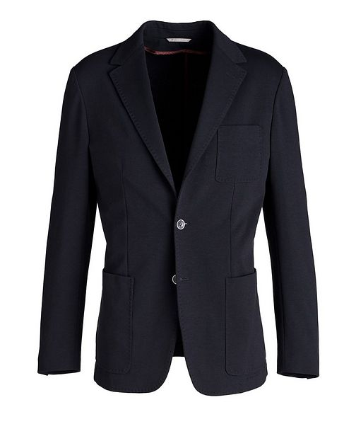Canali Unstructured Cotton-Blend Sports Jacket