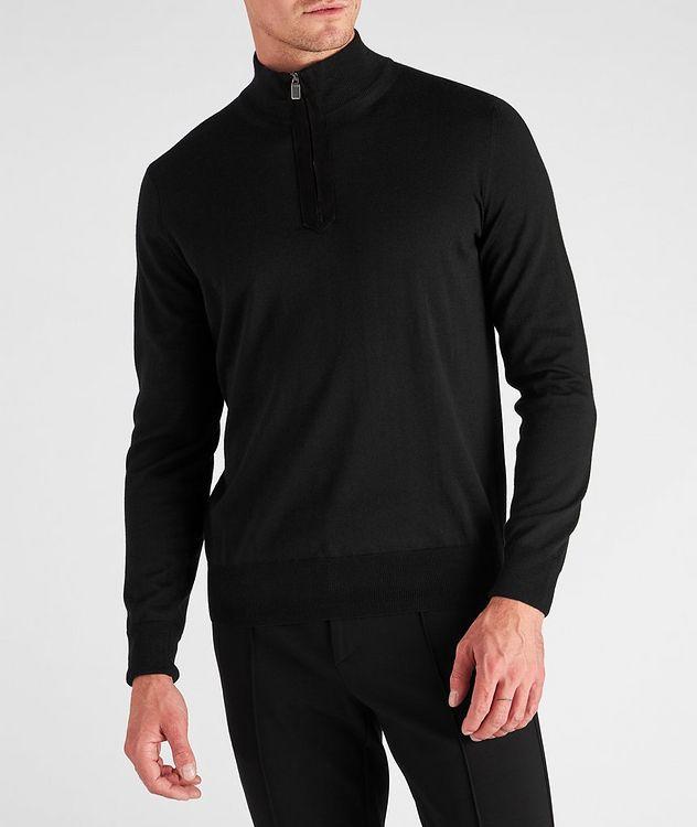 Half-Zip Wool Sweater picture 2