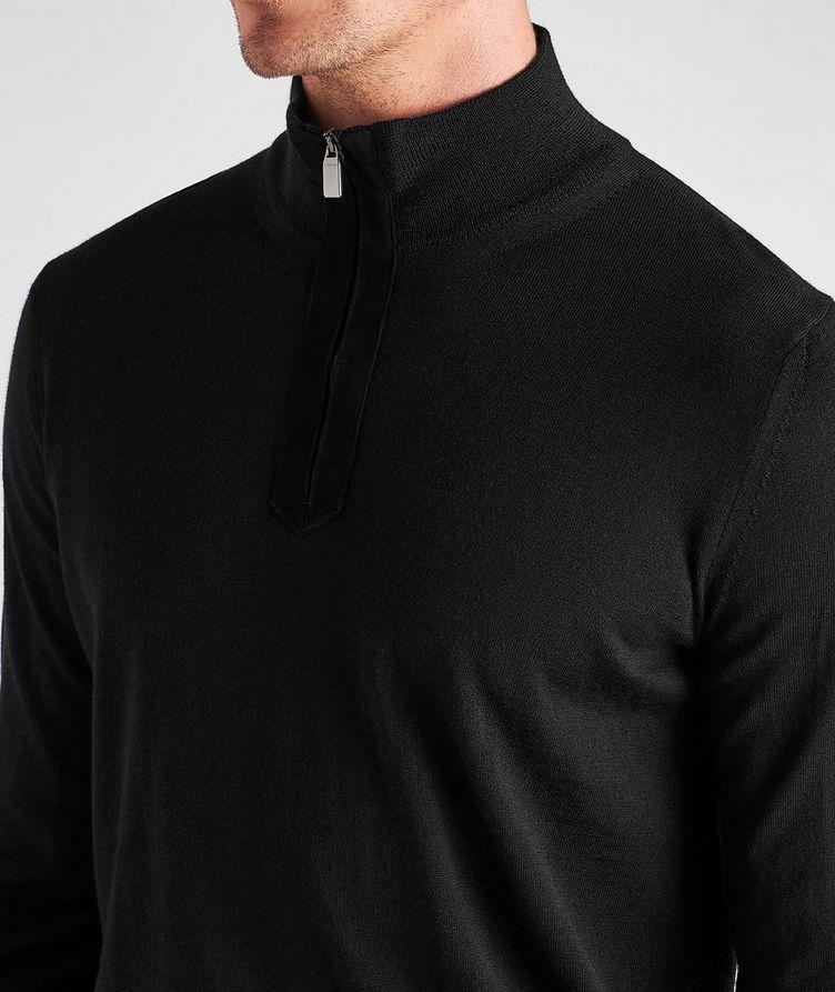 Half-Zip Wool Sweater image 3