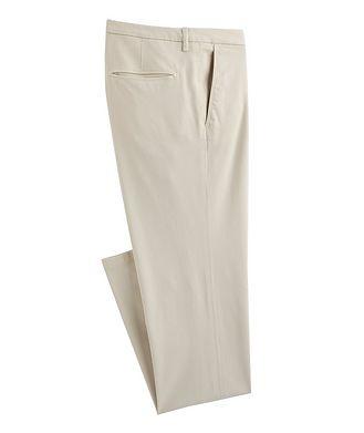 Canali Slim Fit Cotton-Blend Pants