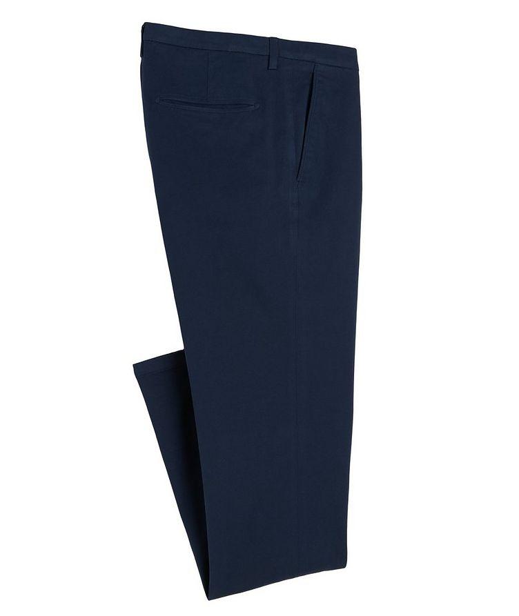 Slim-Fit Cotton-Blend Pants image 0