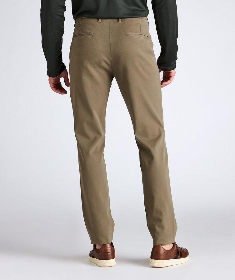 Slim Fit Cotton-Blend Pants image 3