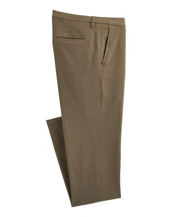 Slim Fit Cotton-Blend Pants picture 1