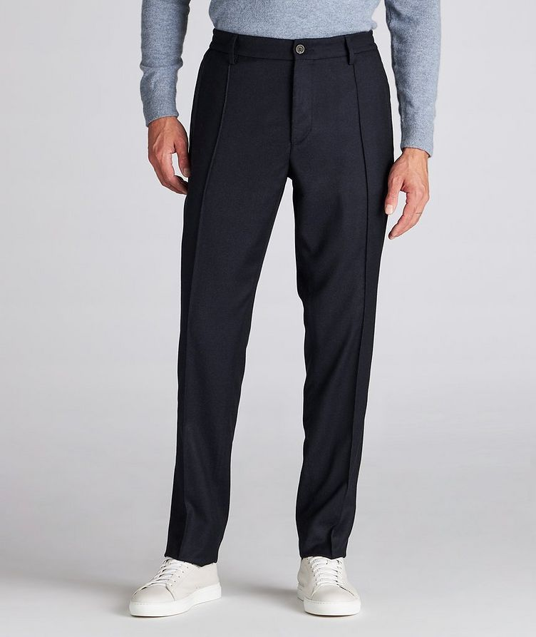 Impeccabile Contemporary Wool Pants image 1
