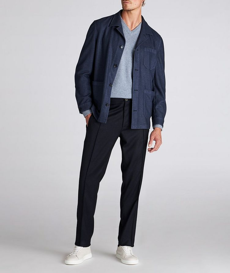 Impeccabile Contemporary Wool Pants image 4