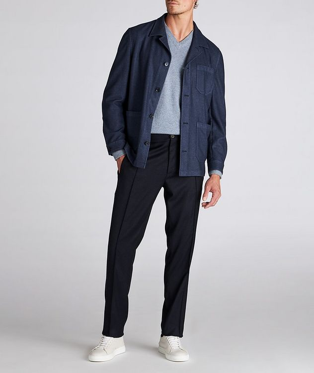 Impeccabile Contemporary Wool Pants picture 5